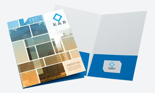 Presentation Folder Design & Printing