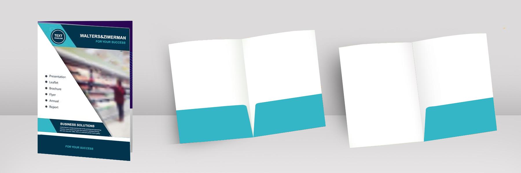 Presentation Folder Design & Print